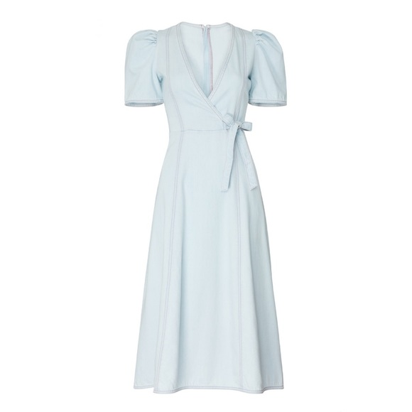 kate spade Dresses & Skirts - Kate Spade New York Denim Wrap Dress